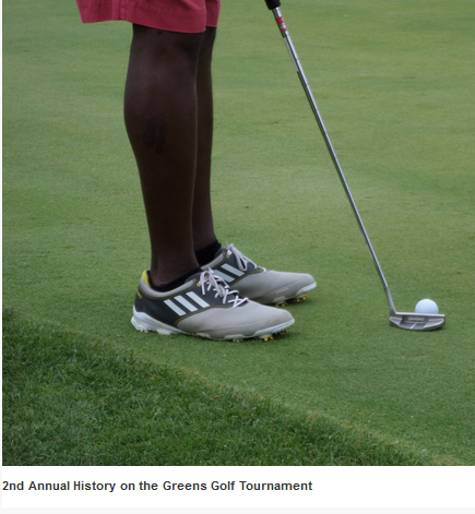 Aug. 1 2014:History on the Greens Benefit Gall Tournament