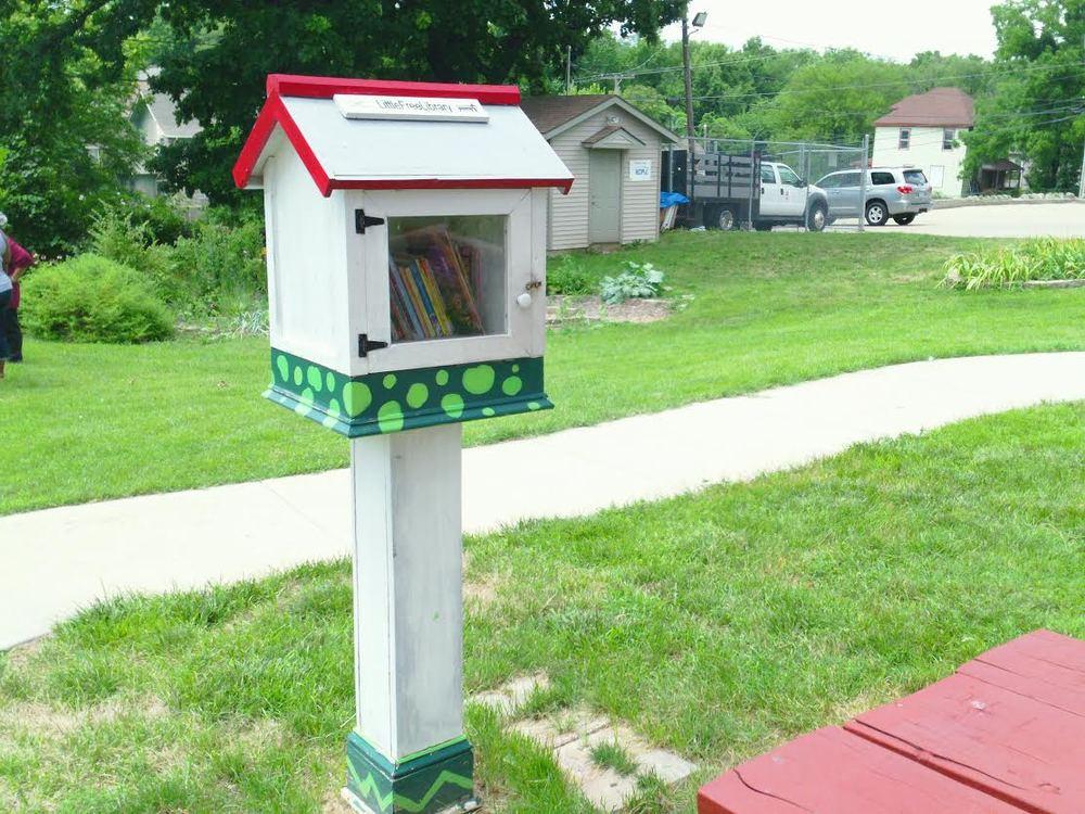Little free library (ivanhoe Neighborhood Council) Kansas City, MO