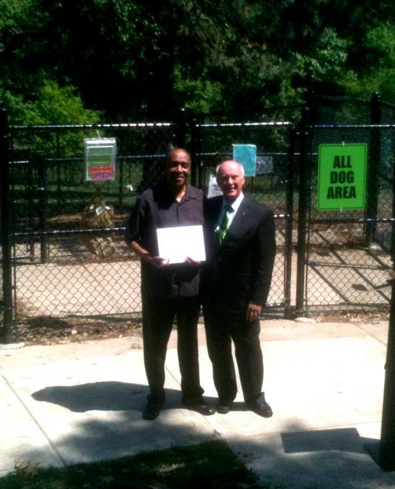 Mayor Suttle and carl christian (nona Board)