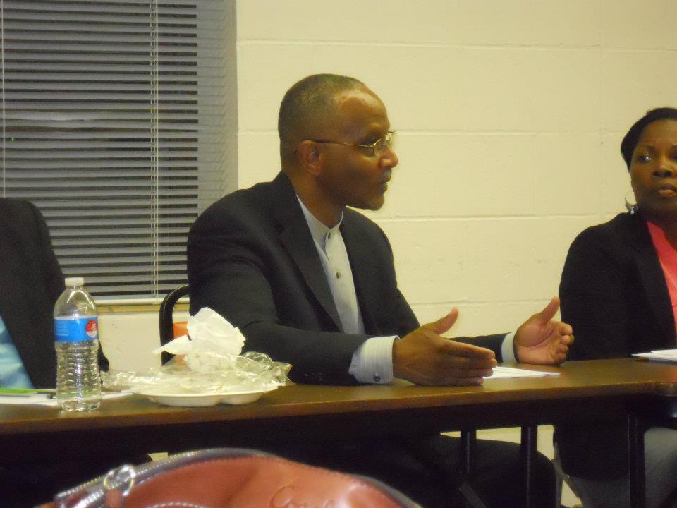 City Council president ben gray