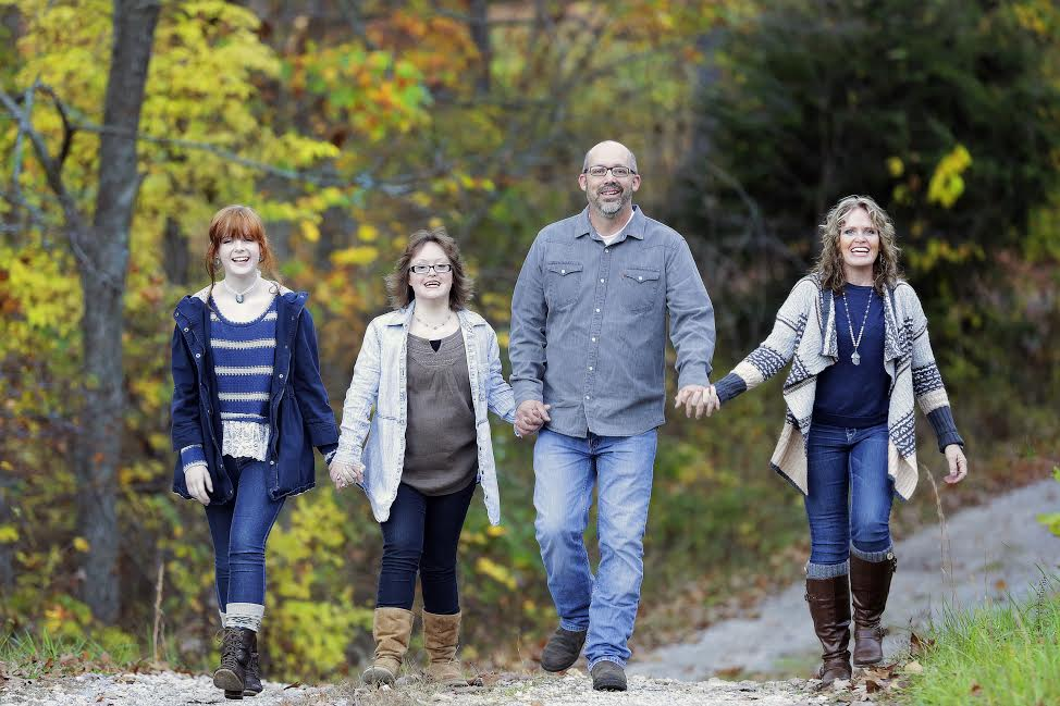 Pictured left to right, Samantha, Tabatha, Chris and Debra.