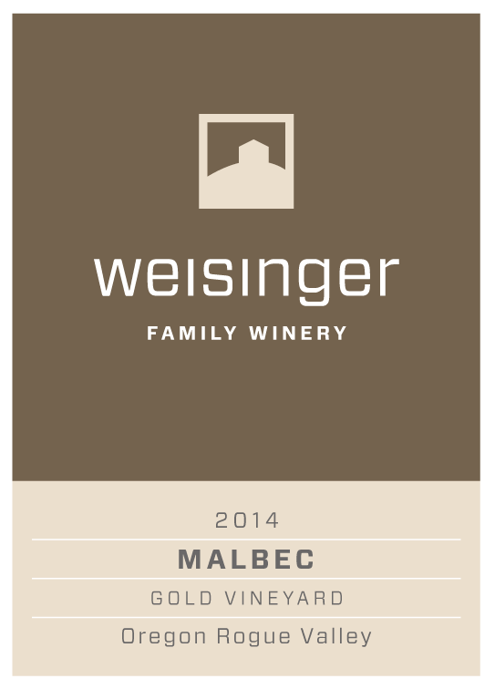 2014 Weisinger Malbec, Oregon wine