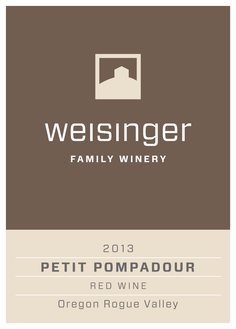 Weisinger Family Winery, 2013 Petit Pompadour Wine