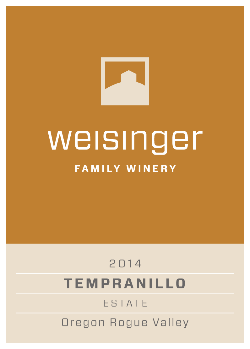 Weisinger Family Winery, 2014 Estate Tempranillo Wine