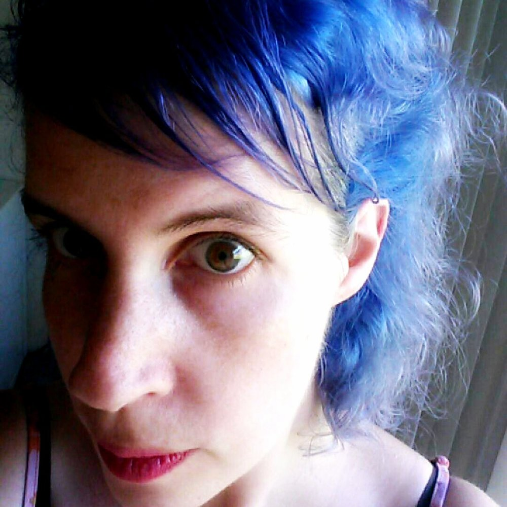 Once upon a time I had blue hair. Loved it!