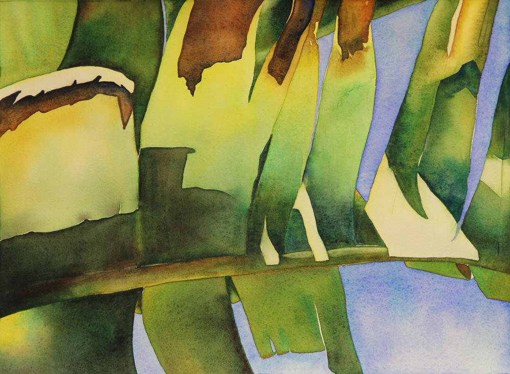 Abstract Banana