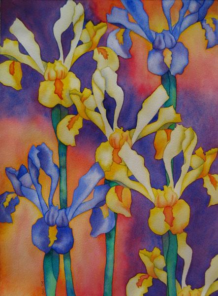 Irises for Dad