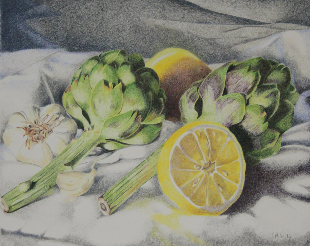 Colored Pencil Works -