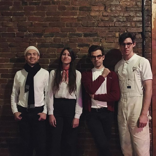 the acb crew for tonight. bringing all the merry. come to @mercylounge tonight for some holiday magic. 📷: @beidly