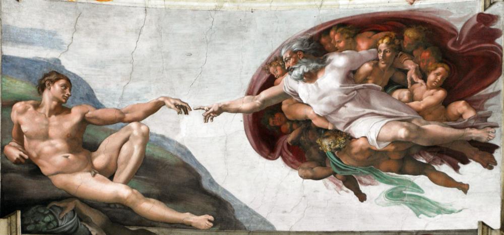 Michelangelo — The Creation of Adam