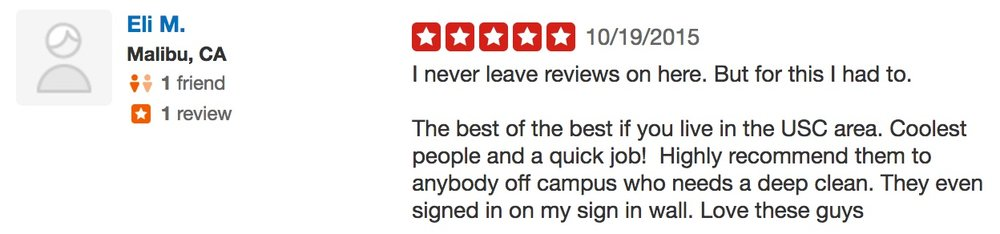 Eli M. Neatly Cleaning yelp review 5 stars good enough quality.jpg