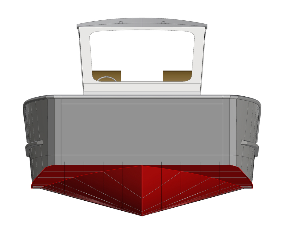 36 X 12 Landing Craft Coastwise Marine Design Inc