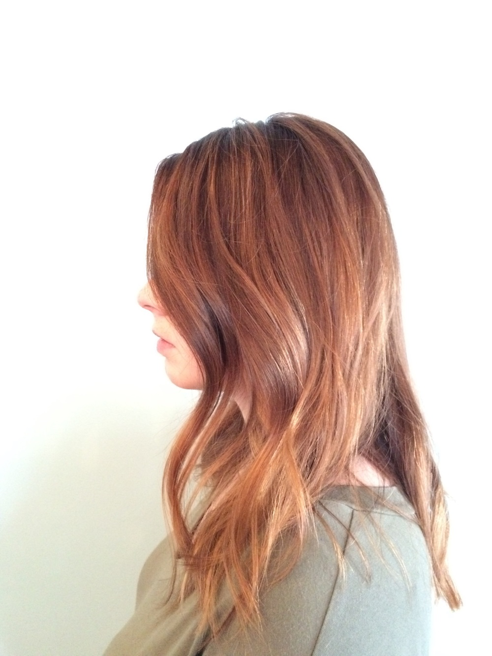BALAYAGE HIGHLIGHTS on Amanda      by: Kristen Carnes