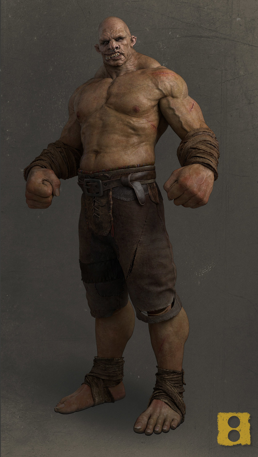 A brooding, hulking giant of a fighter, who has been a part of the UFC. Starting out as a 12 year, Gutt made a name for himself for his tenacity and courage to fight bigger,badder opponents.Now in his mid 40s he has lost none of that ferocity and tenacity. This is what has made him a legend in the UFC scene. This is what makes him Gutt.