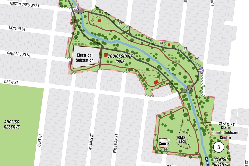 A PLAN FOR STONY CREEK FOR CITY OF MARIBYRNONG