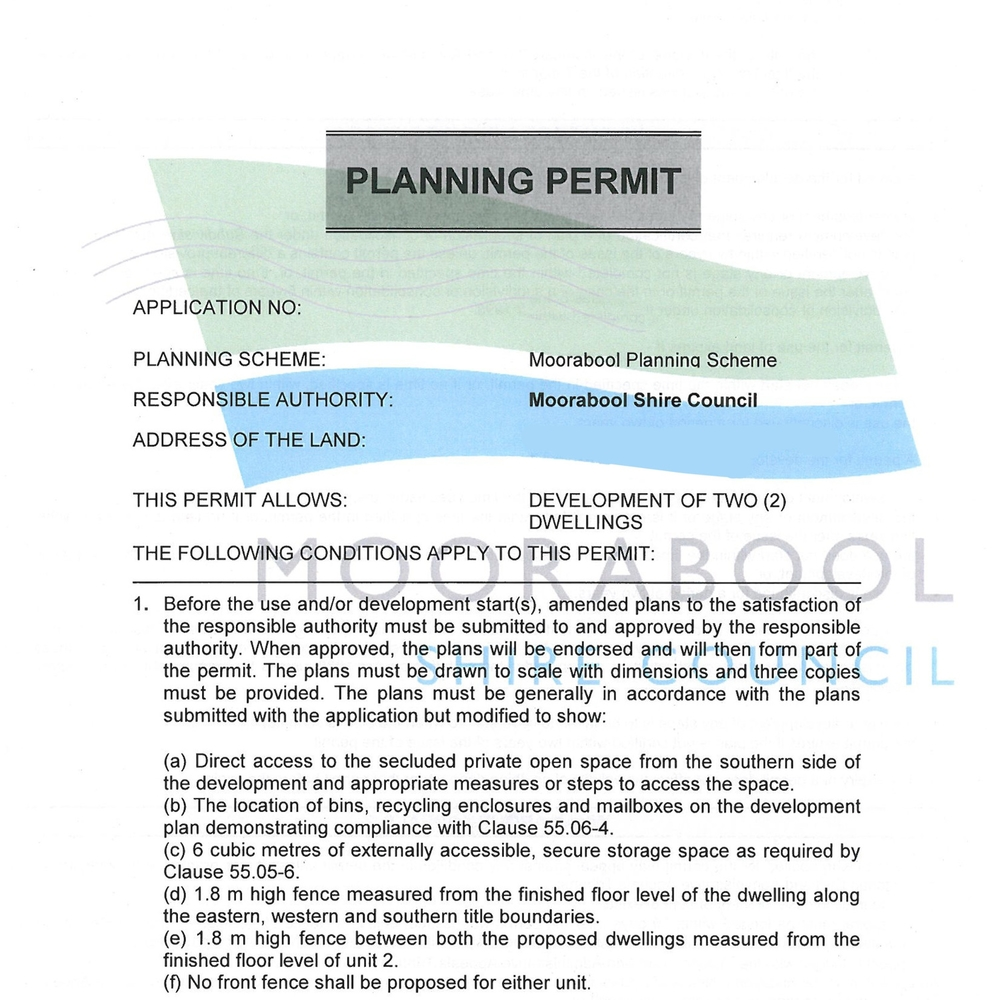 Permit Applications