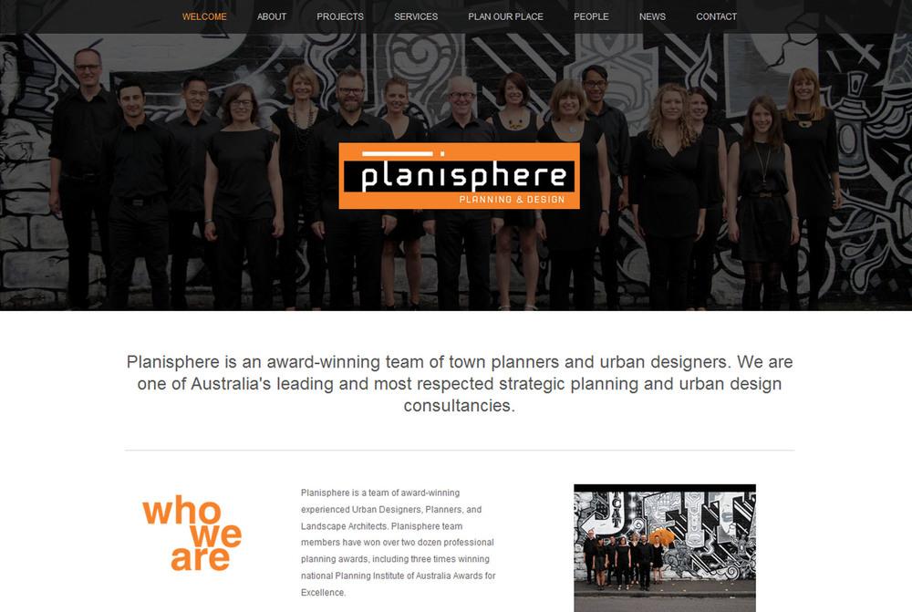 New Planisphere website