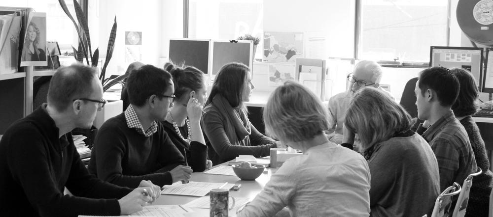Planisphere team meeting