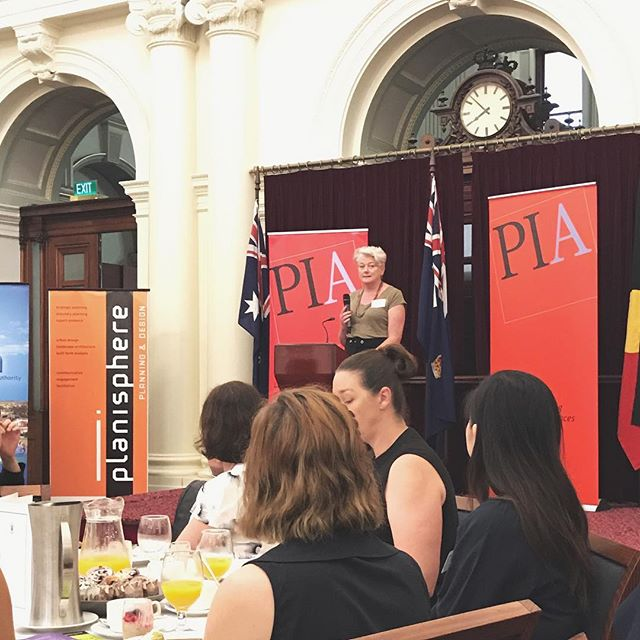 Wonderful to spend the morning celebrating the contribution of women in our profession at the Women's Planning Network's 2017 International Women's Day Breakfast. Dr Heather Holst, Deputy CEO of Launch Housing, gave an inspiring keynote address highlighting the pivotal role social housing plays in providing safe, healthy and affordable housing for some of the most vulnerable and marginalised in our society. #WomensPlanningNetwork #WPN #IWD #IWD2017 #Melbourne #Planning #LaunchHousing