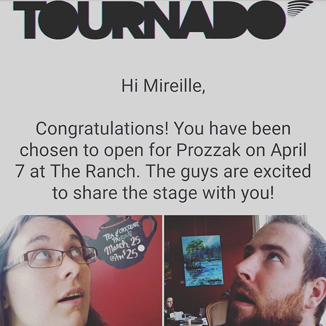 Surprise! We're bringing back the 90's with @prozzakofficial tonight, courtesy of #tournado! . Come see us if you've got sexual frustration, even if you have a strange disease! Either way, show us your love and we'll never get over you.