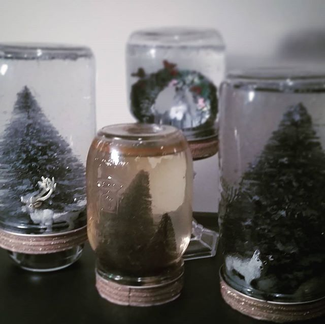 Jam-space decorations. Platypus snow globe... expired? #platypollution