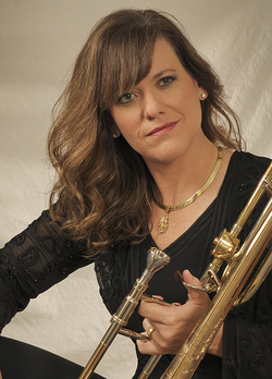 Trombonist Deb Scott