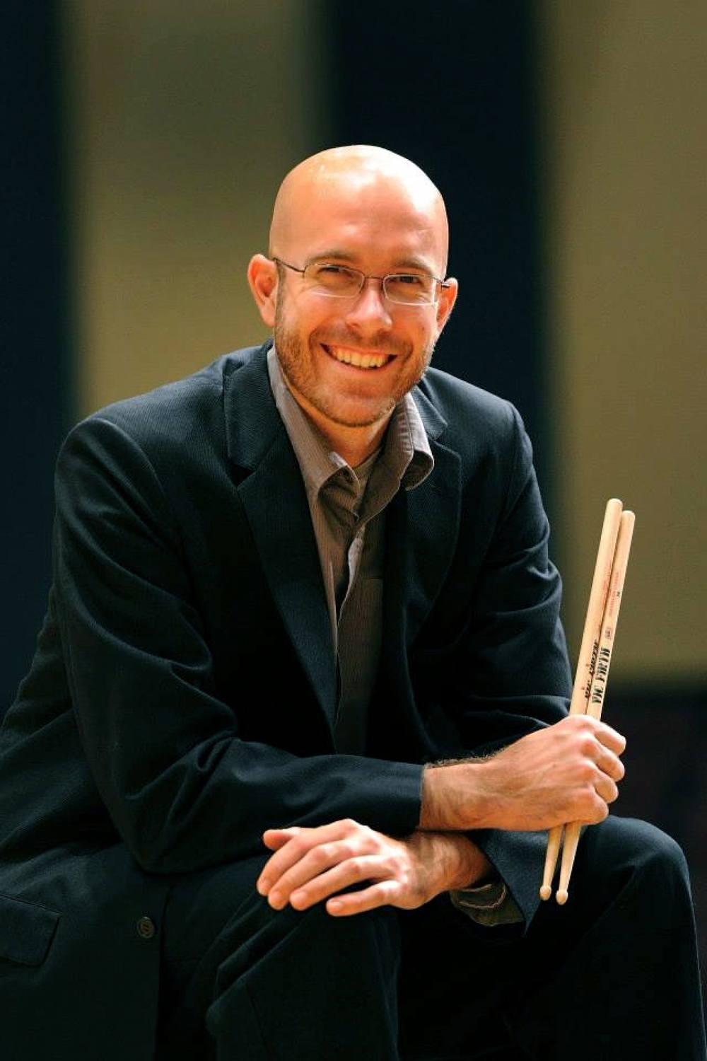 percussionist Brad Meyer