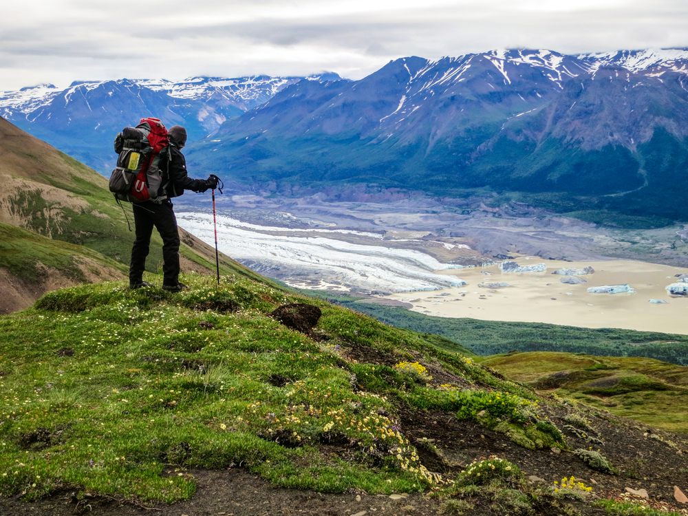 I spent two weeks exploring Wrangell-St. Elias National Park.  During my time there, I backpacked across Nazina Mountain, hiked the northern forests, and toured the amazing remains of the Kennecott mining facility.