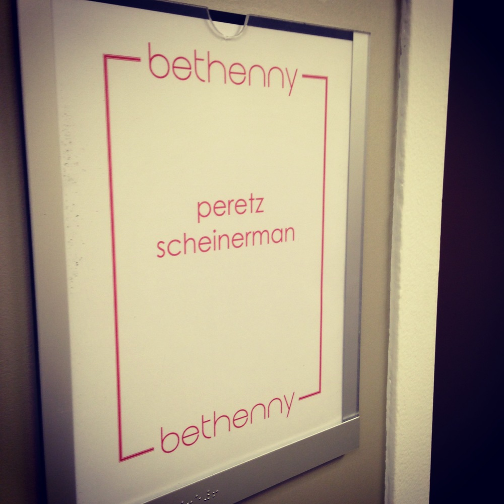 Peretz was featured on  The Bethenny Show .