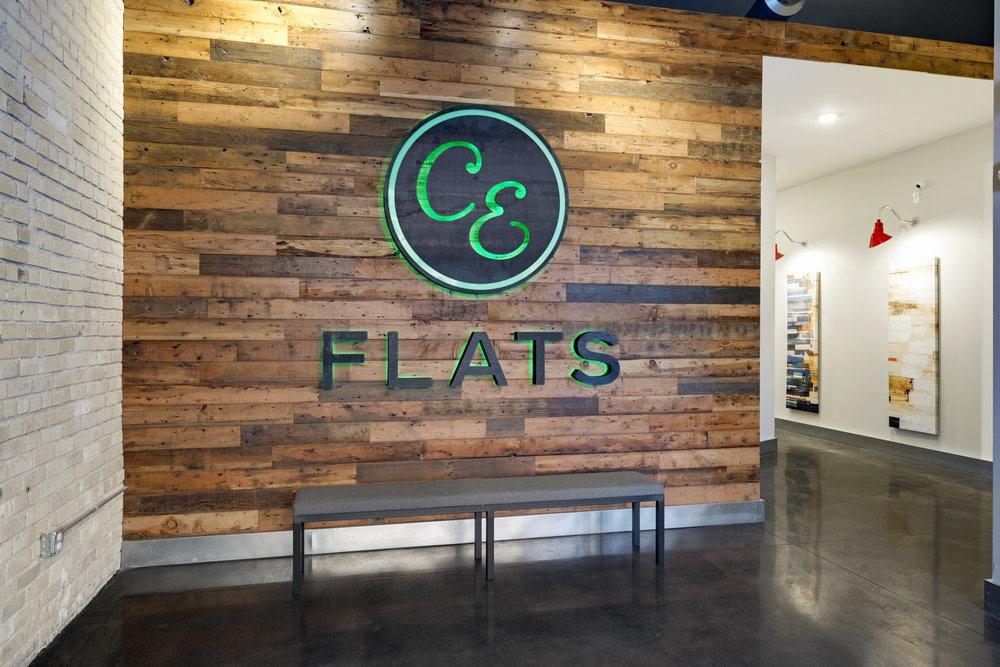 C&E Flats Entry