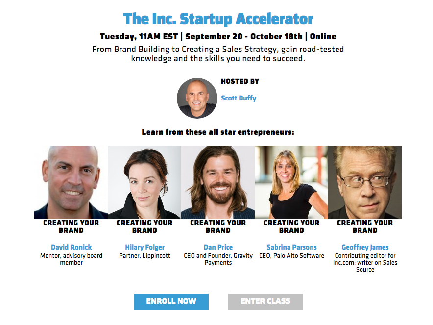 Inc.edu Startup Accelerator Program