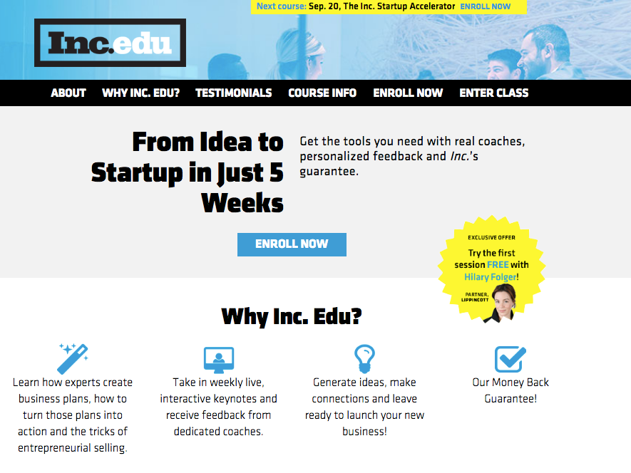 Inc.edu Overview