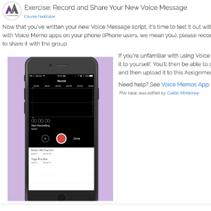 Exercise: Record and Share Your New Voice Message