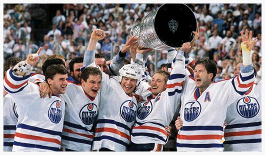 The Edmonton Oilers  Alberta, Canada