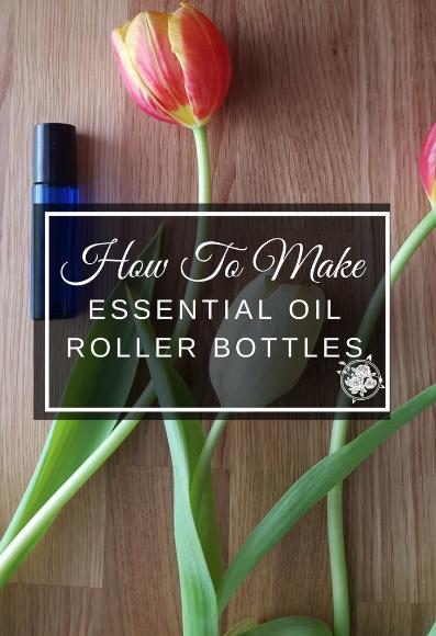 How To Make Essential Oil Roller Bottles