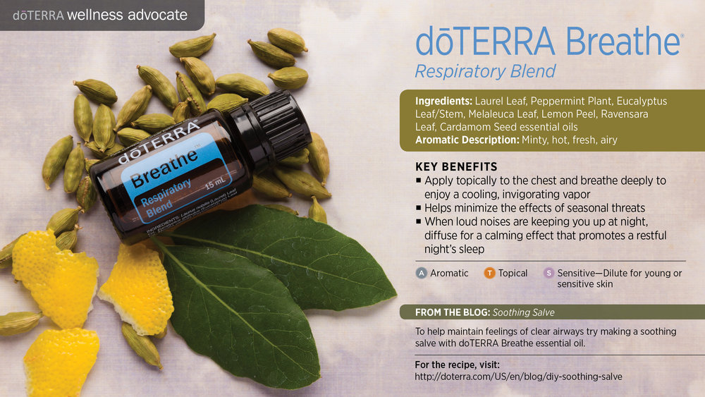 doTERRA Breathe Essential Oil