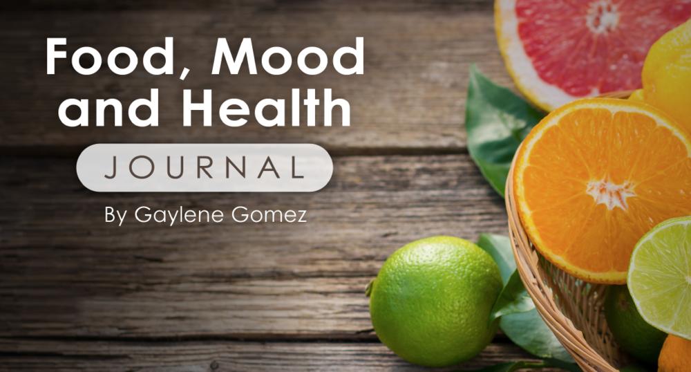 Food, Mood and Health Journal