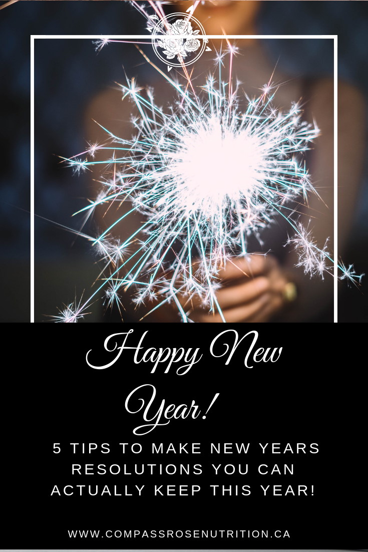 Healthy New Year Resolutions That Stick