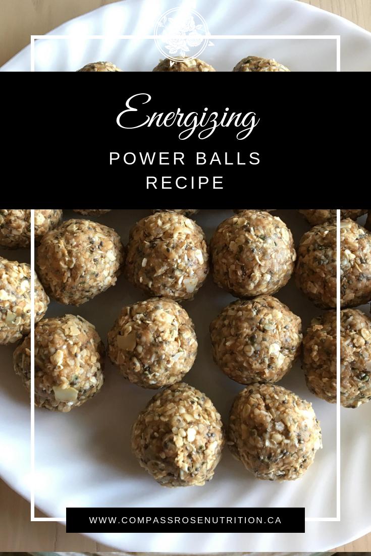 Energizing Power Balls Recipe