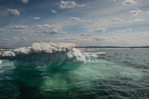 Lake Superior Icebergs