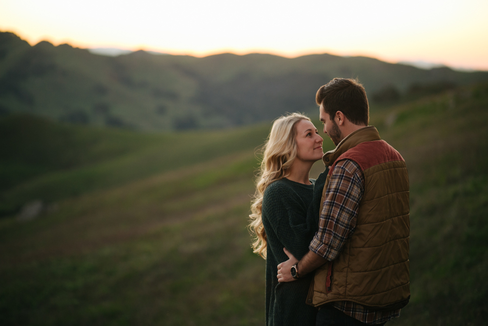 san luis obispo sunrise engagement session wedding photographer 2