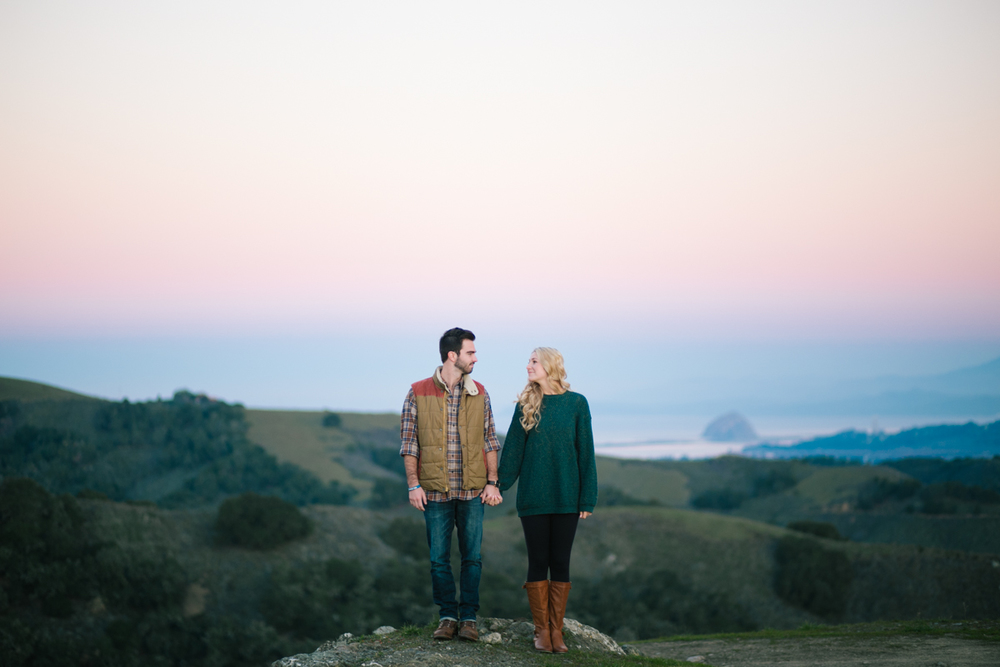 san luis obispo sunrise engagement session wedding photographer 5
