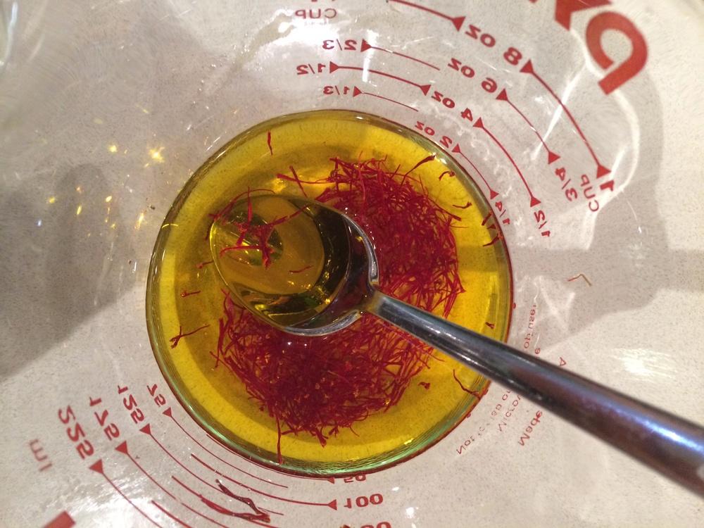 Yummy special ingredients #saffron