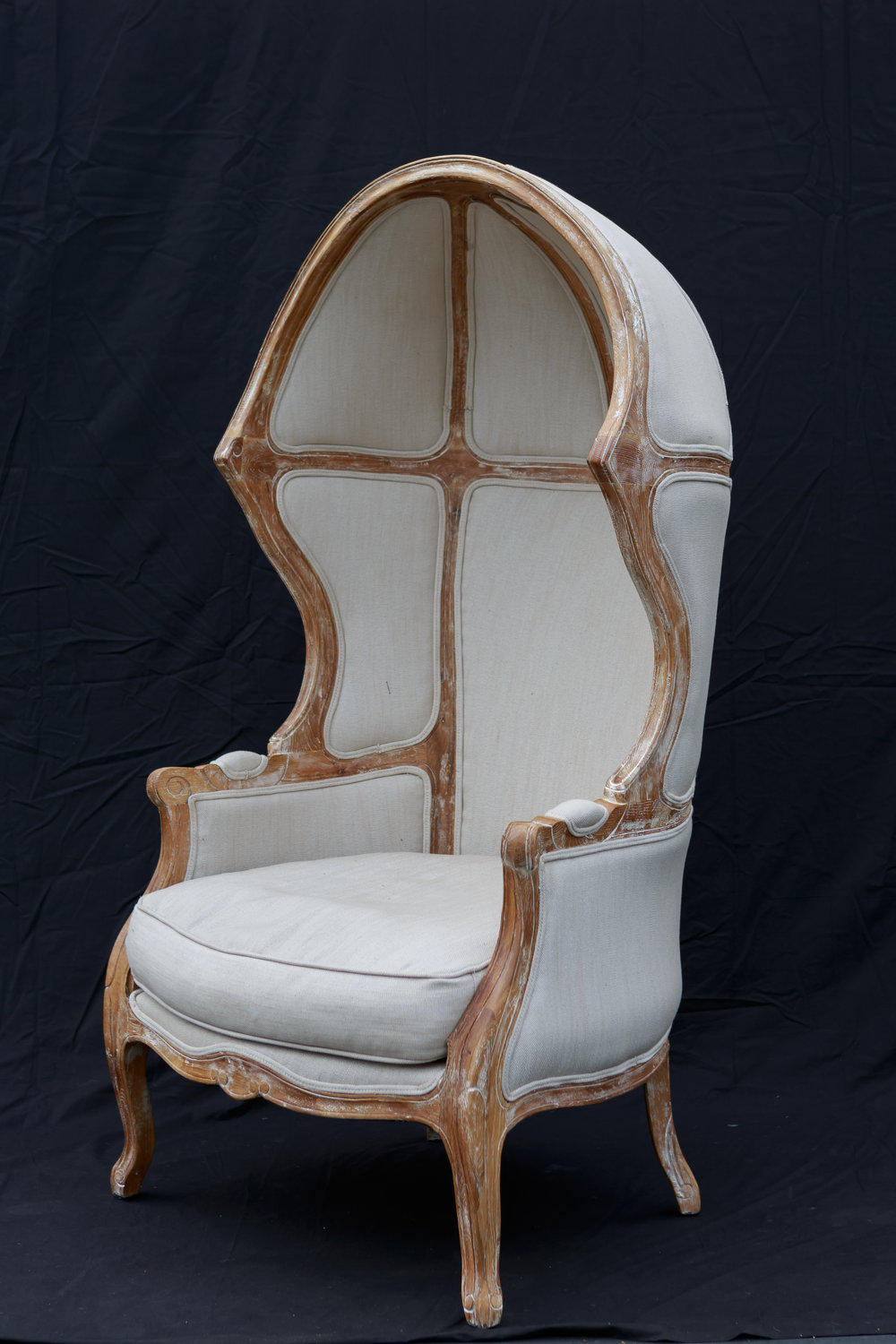 Superbe French Canopy Chair