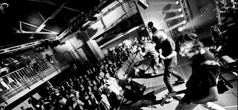 Lidingö Rock Final på Elverket Foto: Gustaf Sandholm Andersson