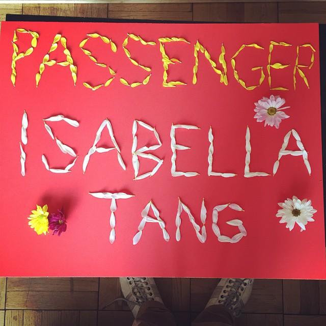 Passenger sign