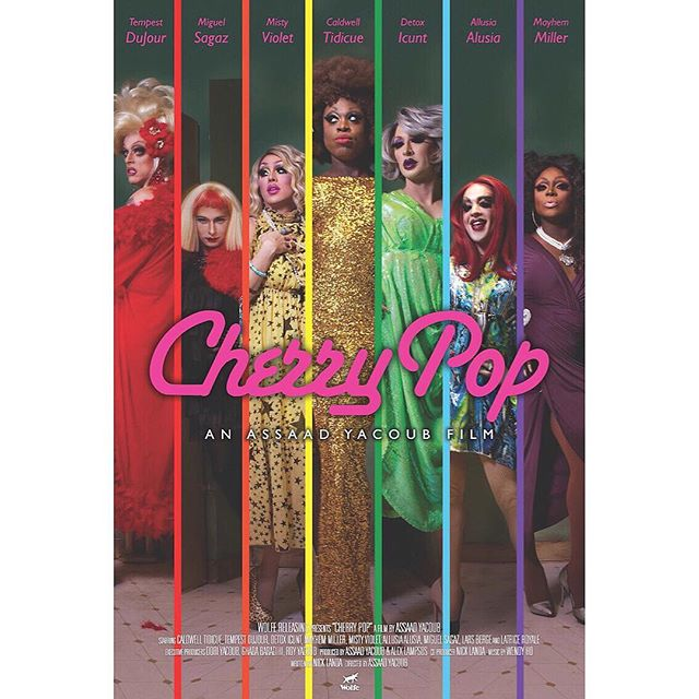 I'm so excited to announce that CHERRY POP will be in theaters around the country this Summer! Starting at NYC Pride in June. More details click on link in bio