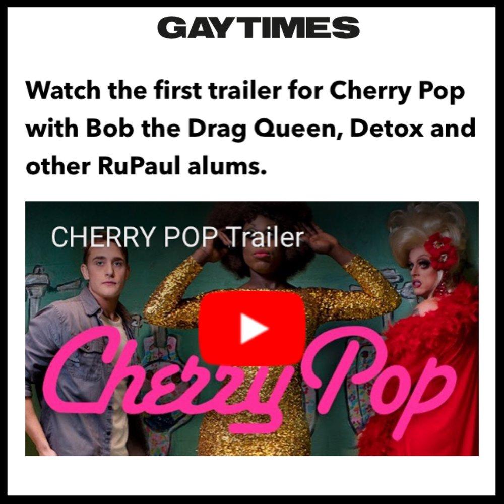 Gay cherry pop
