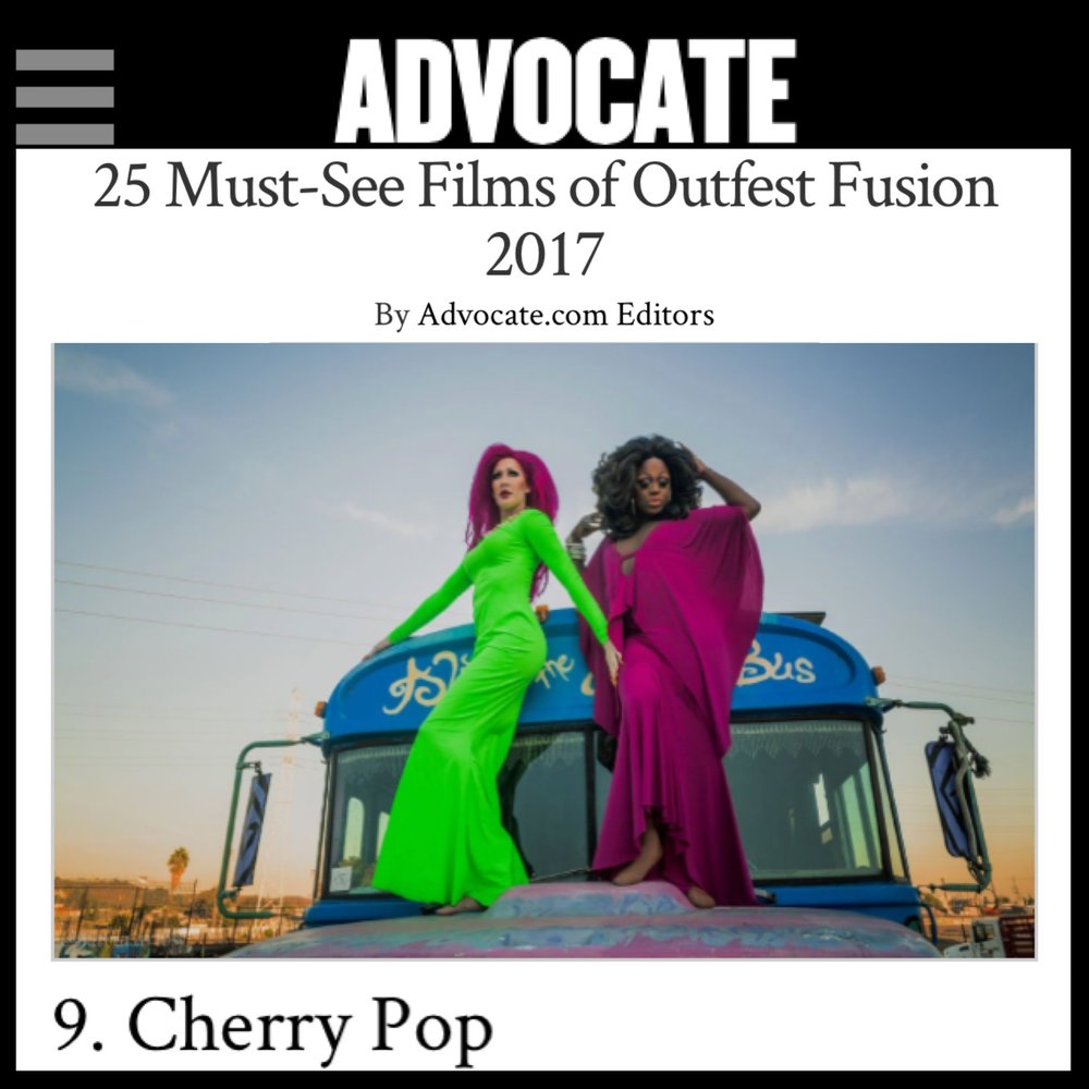 THE ADVOCATE 25 MUST SEE FILMS