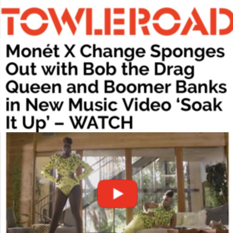 TOWLEROAD - MONET X CHANGE (SOAK IT UP)